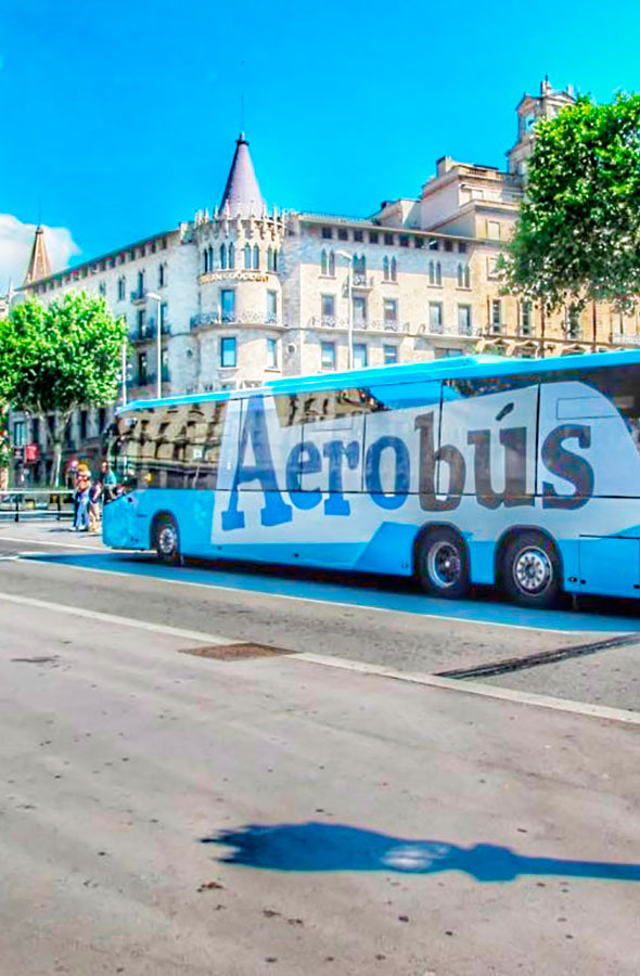 Aerobus by Gratis in Barcelona